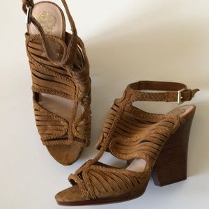Vince Camuto tan sandals